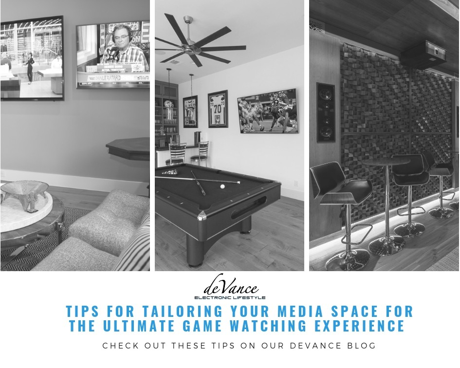 Tips for Tailoring your Media Space for the Ultimate Game Watching Experience