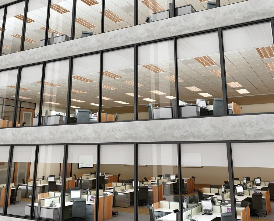 Motorized Shades Add Value to Your Whole Workspace