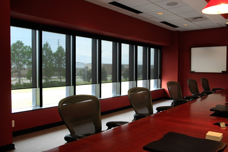 Winterize Your Office with Motorized Shades!